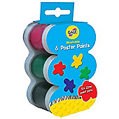Galt - 6 Pots of Washable Poster Paint
