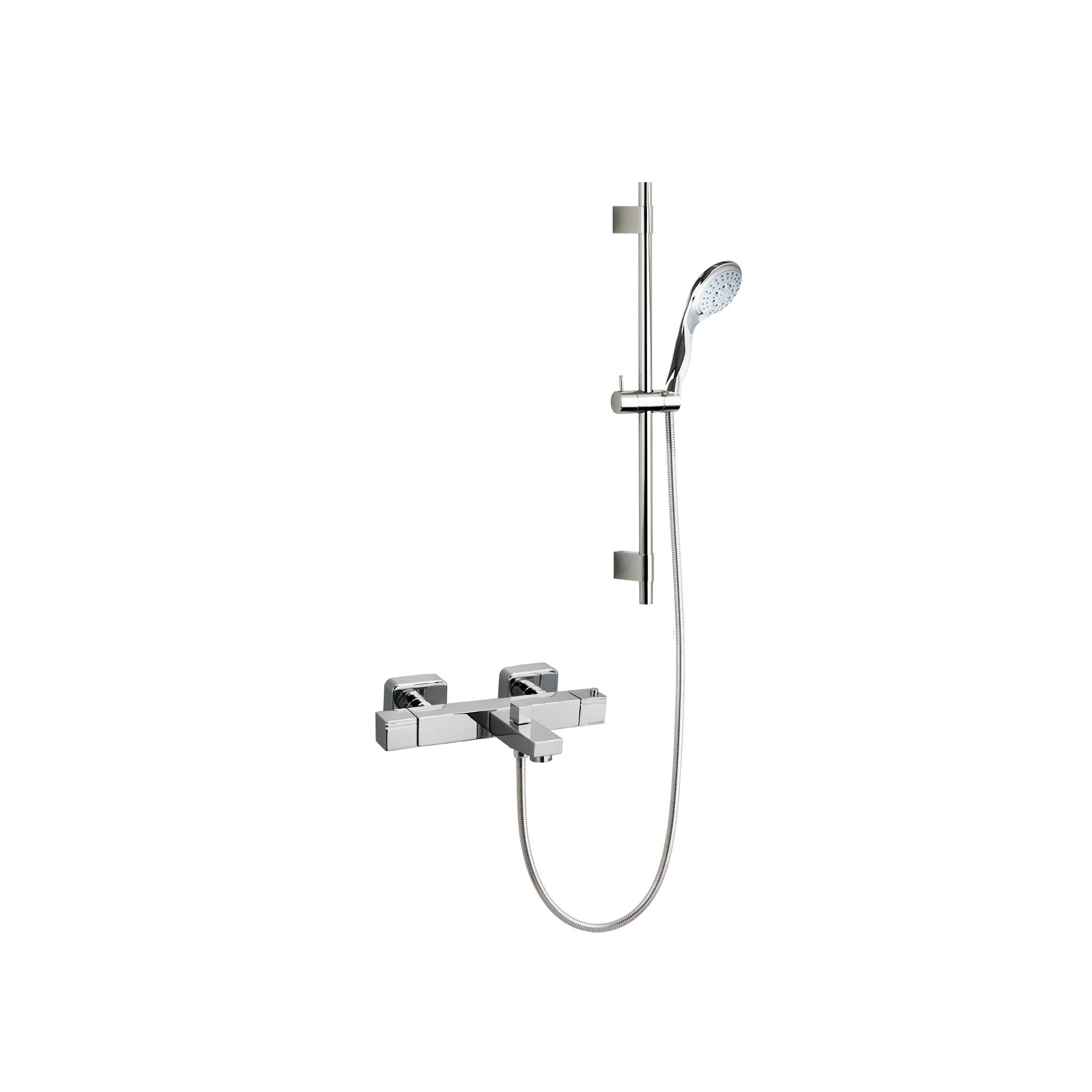 Ramon Soler Thermokuatro Exposed Thermostatic Bath/Shower Mixer with Jupiter Shower Kit at Tescos Direct