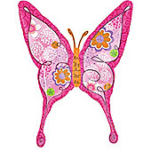 37' Pink Floral Swallowtail Butterfly (each)