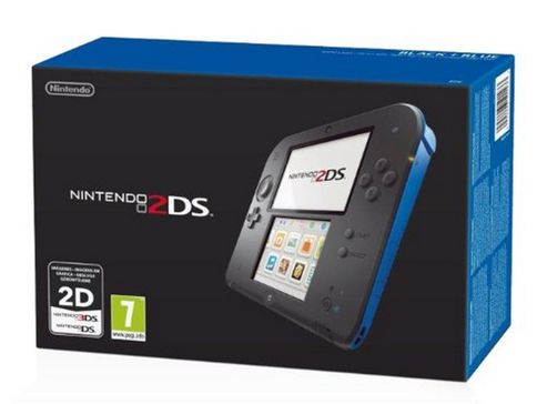 Nintendo 2DS - Black & Blue