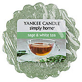 Yankee Candle Sage & White Tea Melt