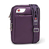 i-stay 10.1 inch purple netbook, iPad, tablet messenger case with non-slip bag strap