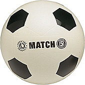 PLAYM8 Plastic Moulded Football - White