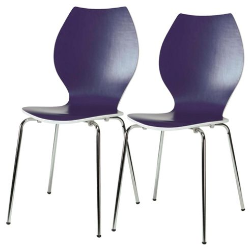 Candy Chairs Pair Purple