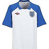 2010-11 England WC Training Jersey (White) - White