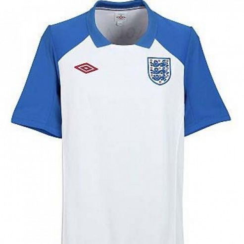 2010-11 England WC Training Jersey (White)