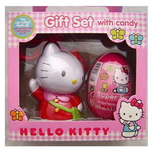 Hello Kitty Gift Set with Candy
