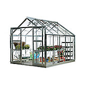 Rhino Harvest Greenhouse 8x10 Natural Aluminium Finish