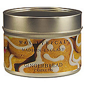 Wax Lyrical Gingerbread Candle Tin