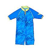 Banz 'Fin Frenzy' UV One Piece Suit - Blue - Blue