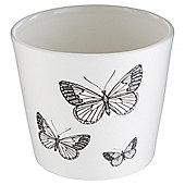 Tesco Ceramic Butterfly Tealight Holder