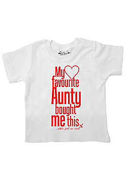 Dirty Fingers My Favourite Aunty bought me this She's Cool! T-shirt - White