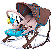 Caretero Aqua Baby Bouncer (Brown)