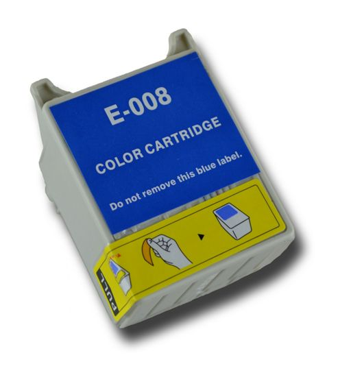 Colour T008 Compatible Epson Parrot non-OEM ink cartridge for Epson Stylus