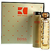 Hugo Boss Boss Orange 75ml Boss Orange Eau de Toilette and 200ml Body Lotion.
