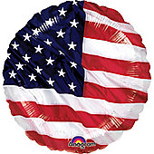18' Stars & Stripes Foil Balloon (each)
