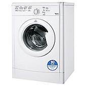 Indesit Ecotime Tumble Dryer, IDVL75BR, 7KG Load, White