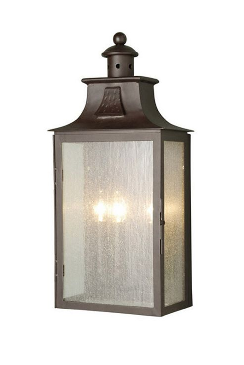Buy Elstead Lighting Balmoral 3 Light Outdoor Wall Lantern in Old Bronze from our Outdoor ...