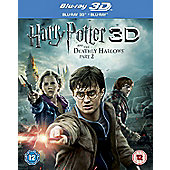 Harry Potter 7 3D: The Deathly Hallows Part 2 (3D Blu-ray)