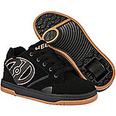 Heelys Propel 2.0 Black/Gum Kids Heely Shoe - Black