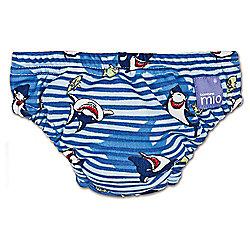 Bambino Mio Swim Nappy - Medium Blue Shark 7-9kg