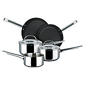 Prestige 5 piece Saucepan set, Stainless Steel