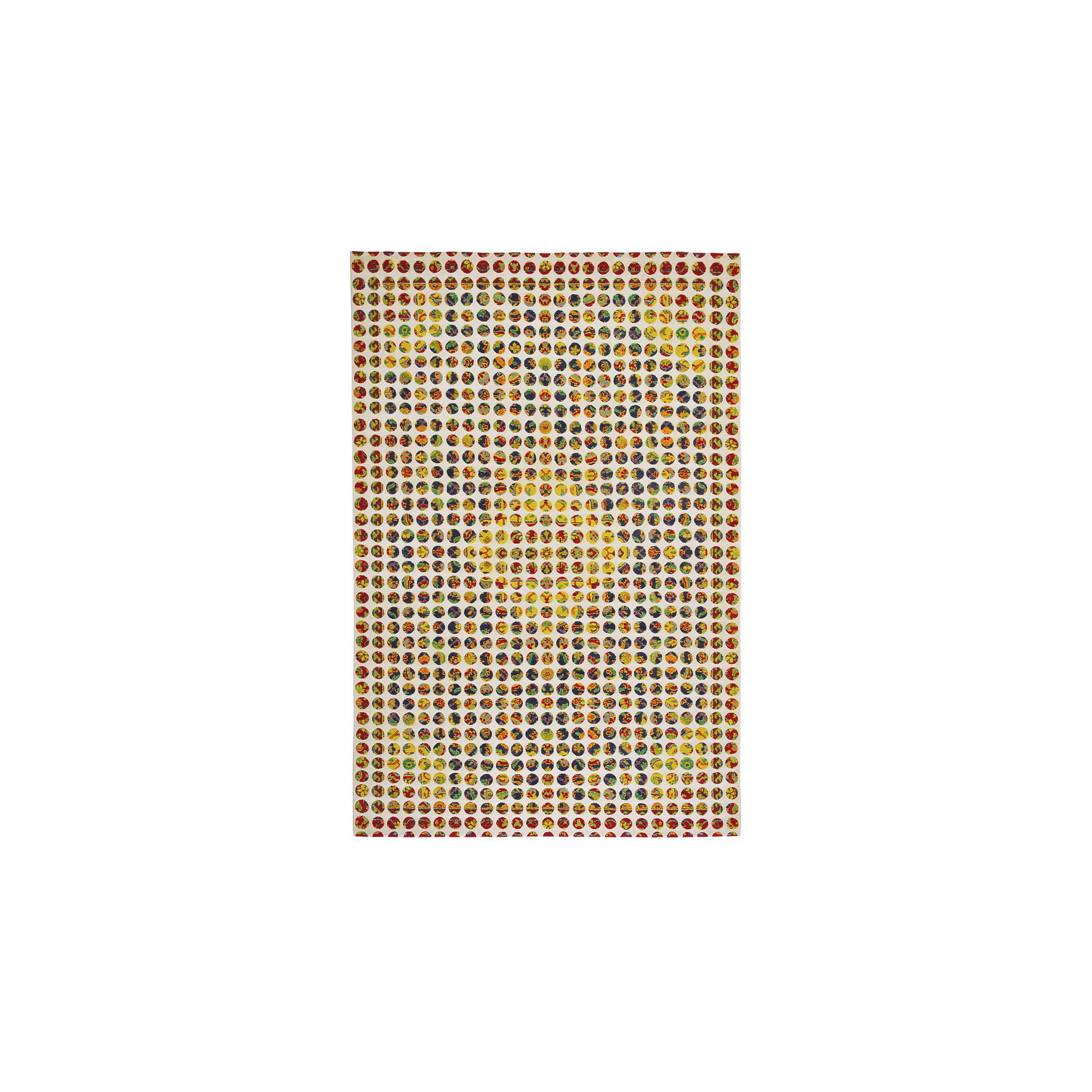 I + I Editions Polka Dots III Knotted Rug - 300cm x 200cm at Tesco Direct