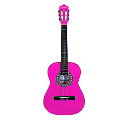 "Martin Smith 36""( 3/4) Size Ac Classical Guitar - Pink"