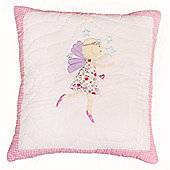 Fairy Magic Quilted Children's Cushion