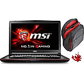 "MSI GP72 17.3"" Intel Core i7 Windows 10 16GB RAM 1000GB Gaming Laptops Black"