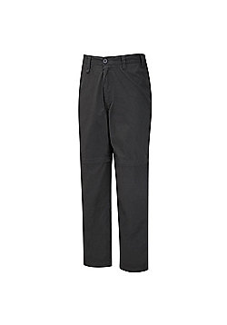 Craghoppers Mens Kiwi Convertible Walking Trousers - Grey
