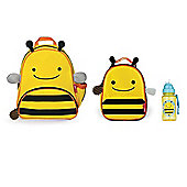 Skip Hop Zoo Pack, Lunch Bag and Straw Bottle Set Bee