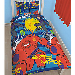 Big Hero 6 Rotary Style Single Bedding