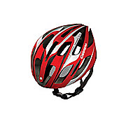 Carrera E0443 Velodrome Road Helmet Shiny Red/White Large Xlarge 58-62cm