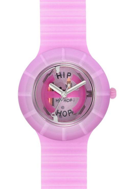 Hip Hop Unisex Pink Ghost Strap Watch HWU0097