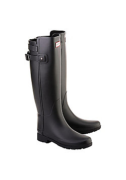 Hunter Tall Back Strapped - Black Size 6
