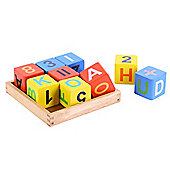 Bigjigs Toys BB004 Alphabet Block Tray