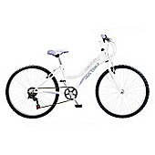 "Concept Chill Out Girls 6 Speed 24"" White"