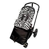 Animal Print Footmuff To Fit hauck Apollo/Condor/Viper/Shopper Zebra