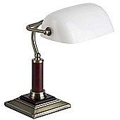 Brilliant Banker's Pivotable Table Lamp