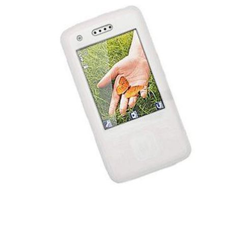 iTALKonline Silicone Case White - For Sony Ericsson C903