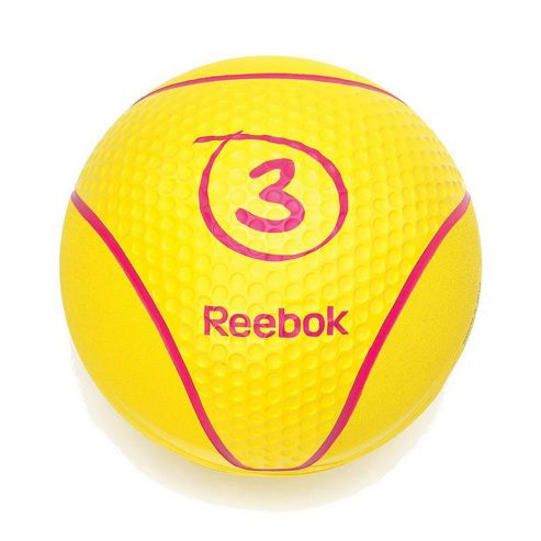 Reebok Medicine Ball - Yellow 3kg