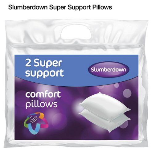 Slumberdown Super Support Comfort Pillows - 2 pack