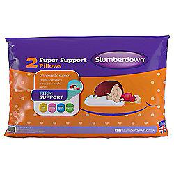 Slumberdown Super Support Pillow Twinpack