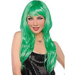 Glamorous Wig - Green