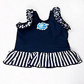 Splash About Happy Nappy Frou Frou Small (Navy & White Stripe)