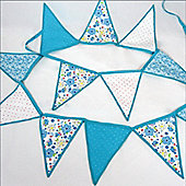 Blue Bedroom Bunting