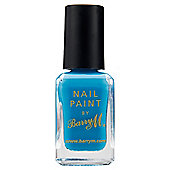 Barry M Nail Paint 294 - Cyan Blue