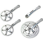 Stronglight Impact Tandem Chainset: 28/38/48T x 170mm.