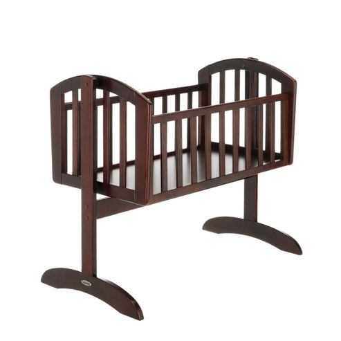 Obaby Sophie Swinging Crib & Mattress - Dark